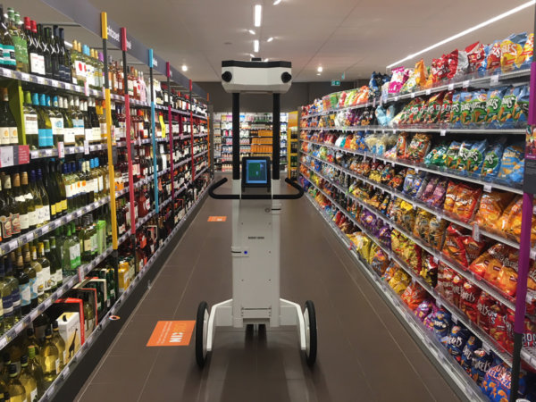 3D-Scan Trolley in Albert Heijn
