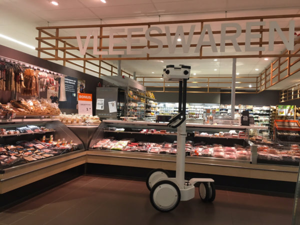 3D-Scan Trolley scant de Albert Heijn