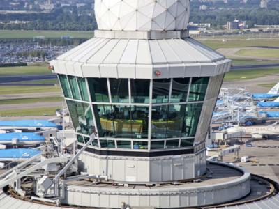 3D Scan luchtverkeerstoren schiphol