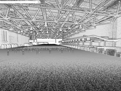3D Scan Digitalisatie van nieuwe terminal schiphol